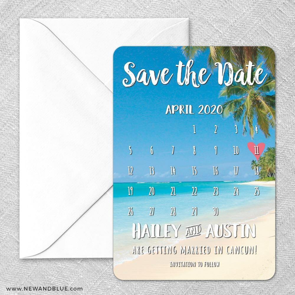 Beach Calendar Classic Size