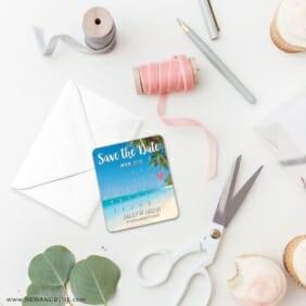 Beach Calendar 4 Petite Size Magnet