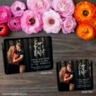 Enchanted Embrace 2 Save The Date Magnet Classic And Petite Size