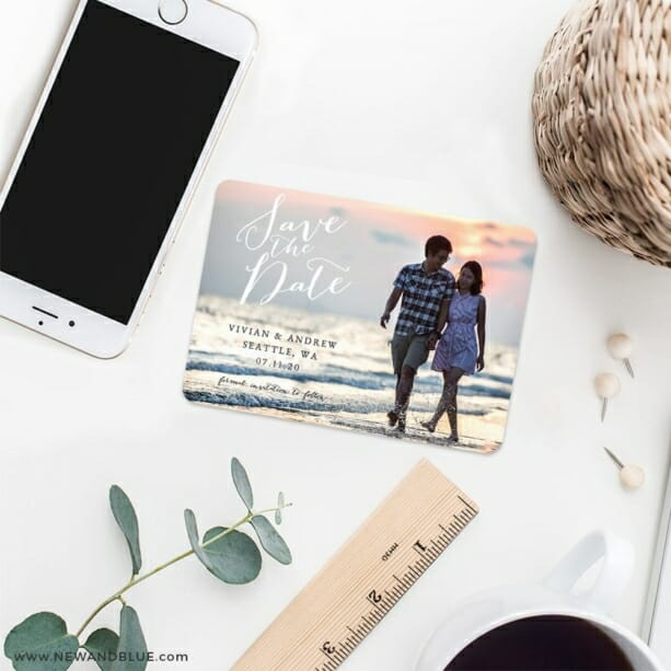 Always Yours Nb 7 Wedding Save The Date Magnets