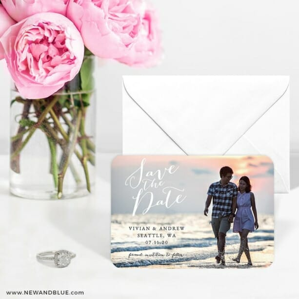 Always Yours Nb 6 Wedding Save The Date Magnets