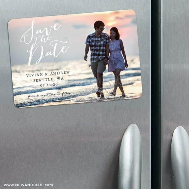 Always Yours Nb 3 Refrigerator Save The Date Magnets