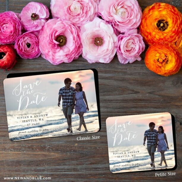 Always Yours Nb 2 Save The Date Magnet Classic And Petite Size