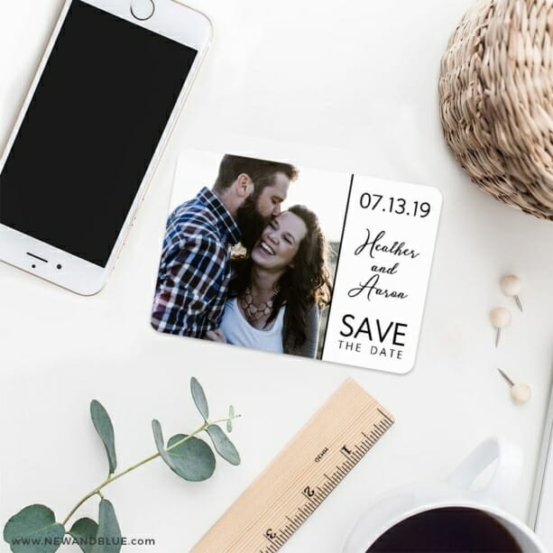 At Last Nb 7 Wedding Save The Date Magnets