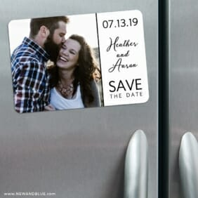 At Last Nb 3 Refrigerator Save The Date Magnets