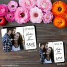 At Last Nb 2 Save The Date Magnet Classic And Petite Size