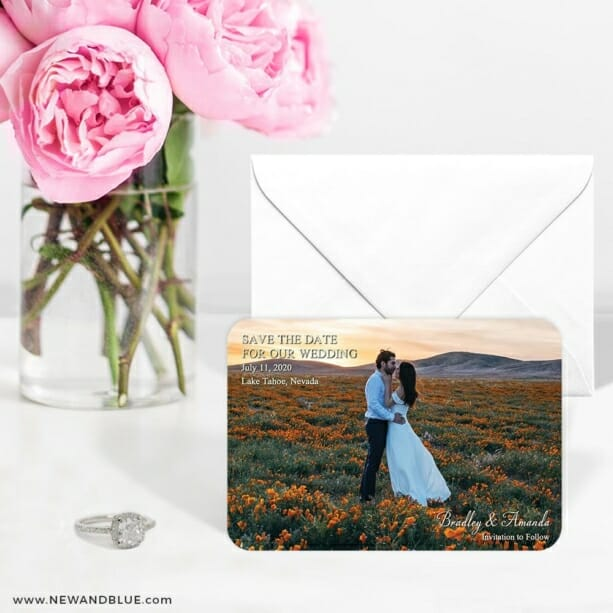 Countryside Nb 6 Wedding Save The Date Magnets