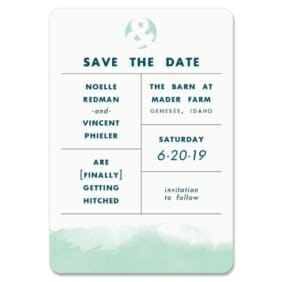 Chroma 1 Save The Date Magnets