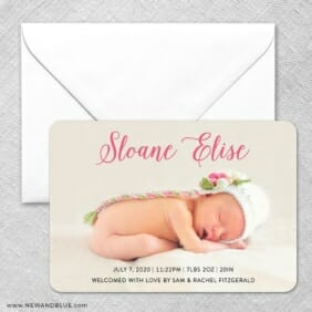 Welcome Baby Classic Size