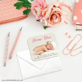 Welcome Baby 4 Petite Size Magnet
