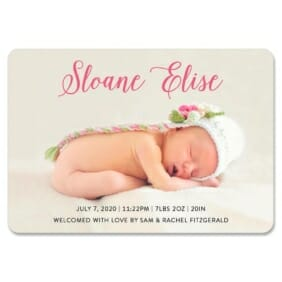 Welcome Baby 1 Save The Date Magnets