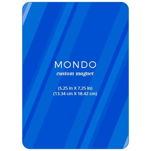 Mondo Portrait Custom Save The Date Magnets