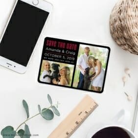 Soulmate Nb 7 Wedding Save The Date Magnets