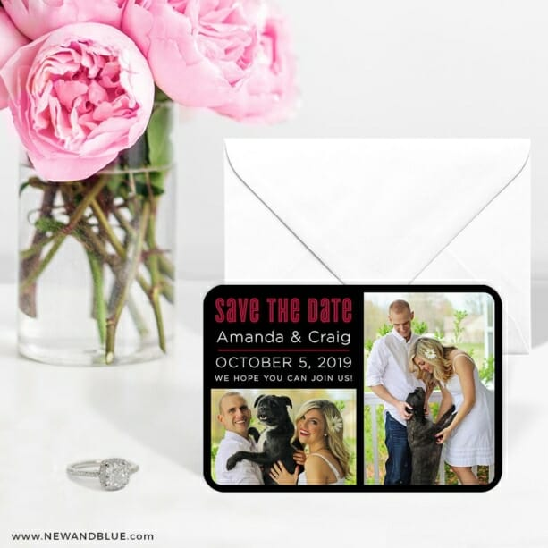 Soulmate Nb 6 Wedding Save The Date Magnets