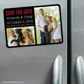 Soulmate Nb 3 Refrigerator Save The Date Magnets