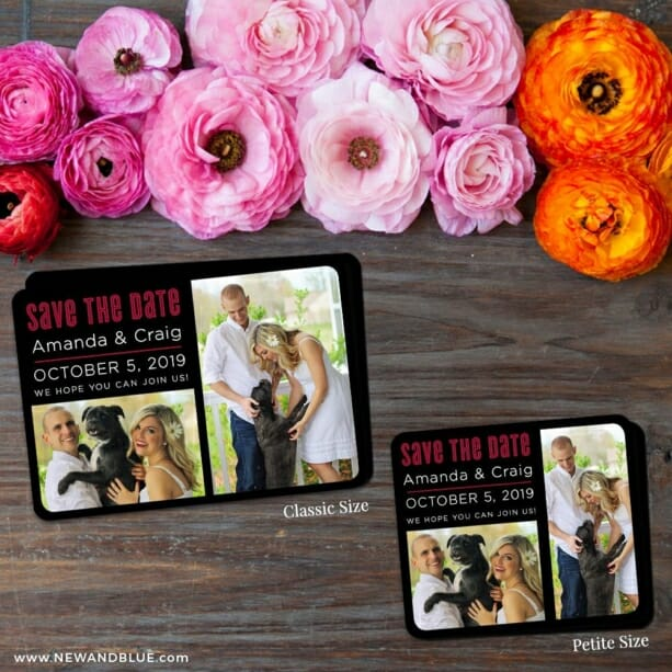 Soulmate Nb 2 Save The Date Magnet Classic And Petite Size