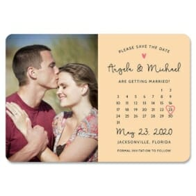 Sweetheart Calendar Nb1 1 Save The Date Magnets