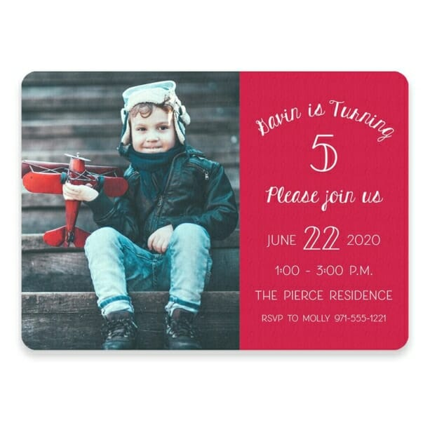 Happy Birthday Save The Date Postcards