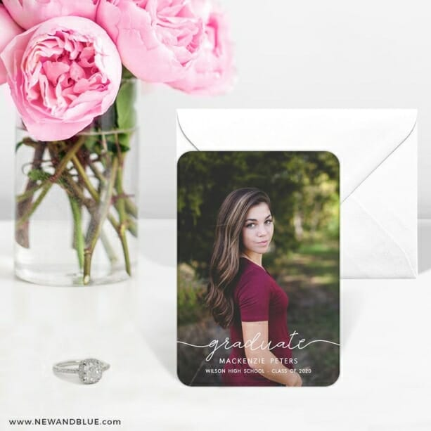 Senior Picture 6 Wedding Save The Date Magnets