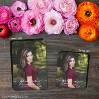 Senior Picture 2 Save The Date Magnet Classic And Petite Size
