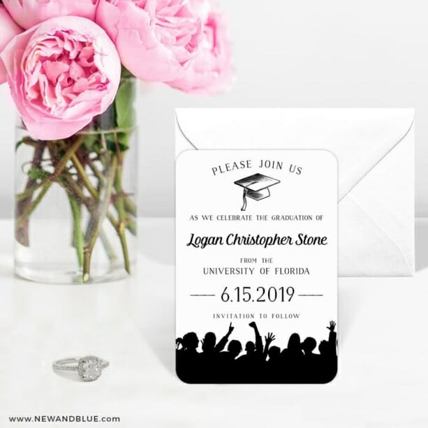 Valedictorian Nb 6 Wedding Save The Date Magnets