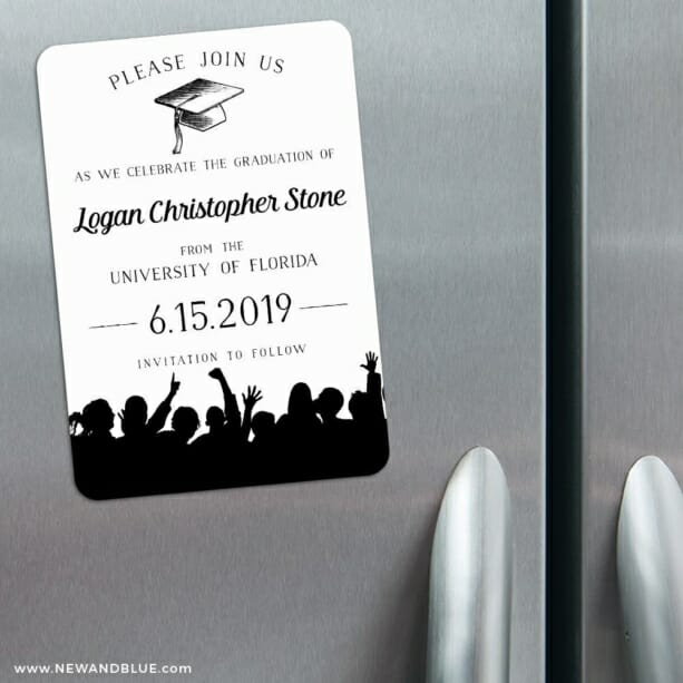 Valedictorian Nb 3 Refrigerator Save The Date Magnets