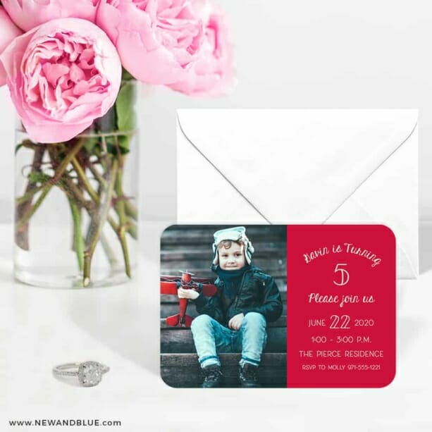 Happy Birthday 6 Wedding Save The Date Magnets