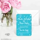 Snow Nb 6 Wedding Save The Date Magnets