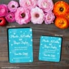 Snow Nb 2 Save The Date Magnet Classic And Petite Size