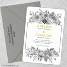 Harlow 5 Save The Date With Optional Color Envelope