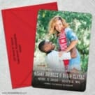 Vignette Nb 5 Save The Date With Optional Color Envelope