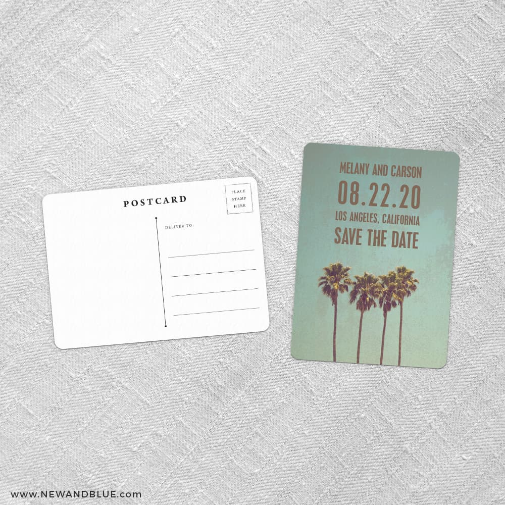 b519a79247079 Los Angeles Save The Date Postcards Fb