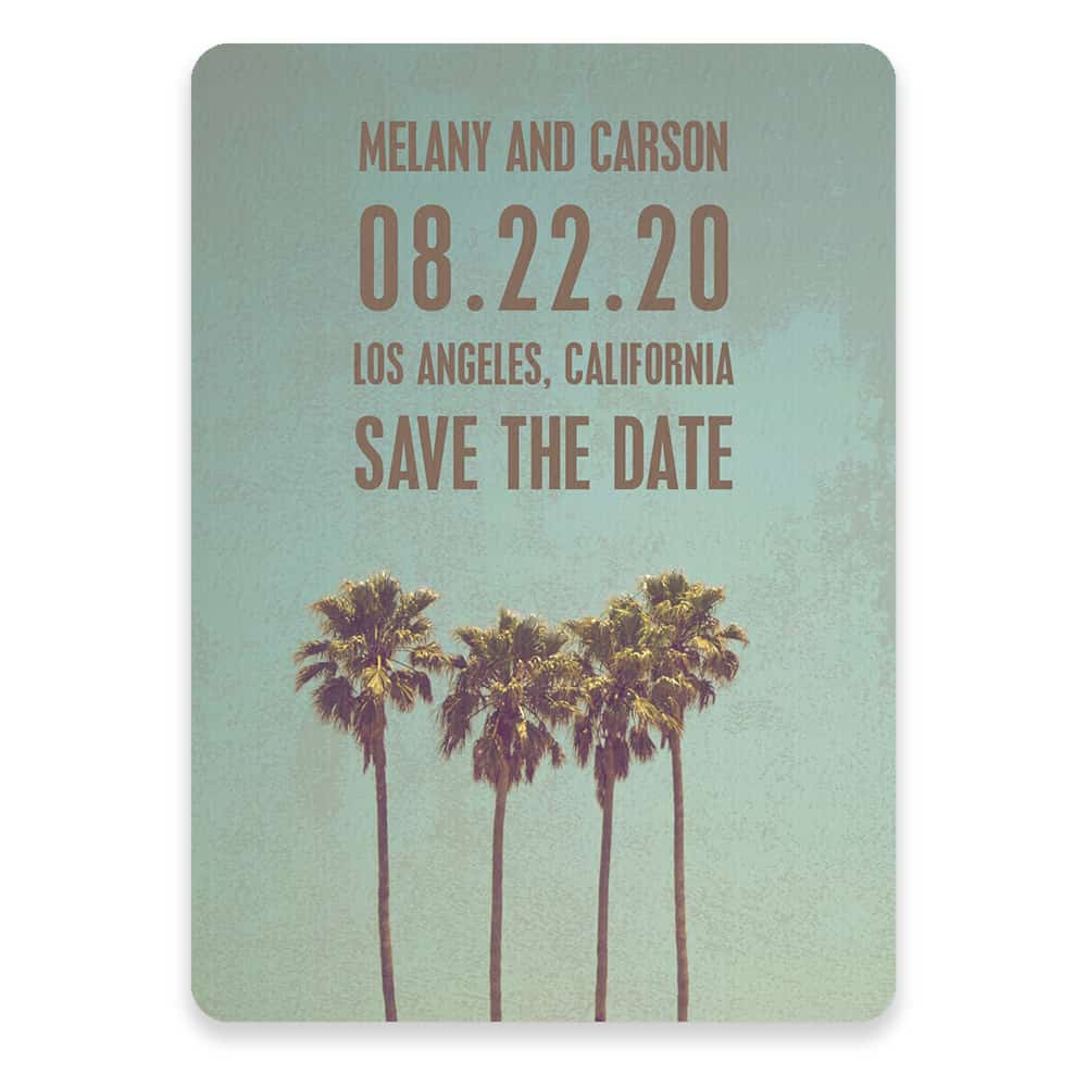 Los Angeles Save The Date