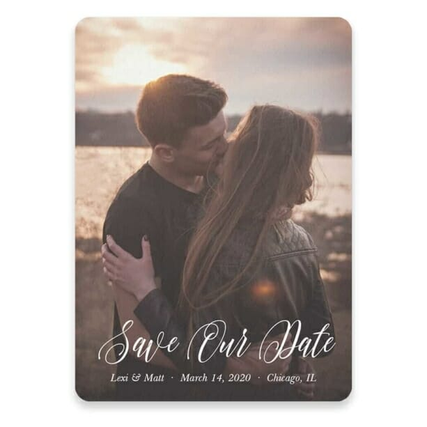 Together Forever Save The Date Postcards