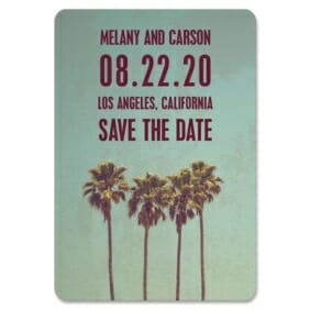 Los Angeles 1 Save The Date Magnets