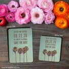 Los Angeles 2 Save The Date Magnet Classic And Petite Size
