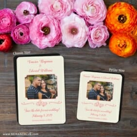 Amour Nb 2 Save The Date Magnet Classic And Petite Size