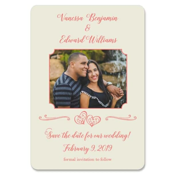 Amour Nb 1 Save The Date Magnets