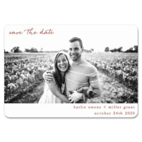 Exciting Times Nb 1 Save The Date Magnets
