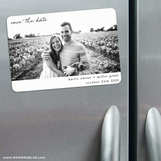 Exciting Times Nb 3 Refrigerator Save The Date Magnets