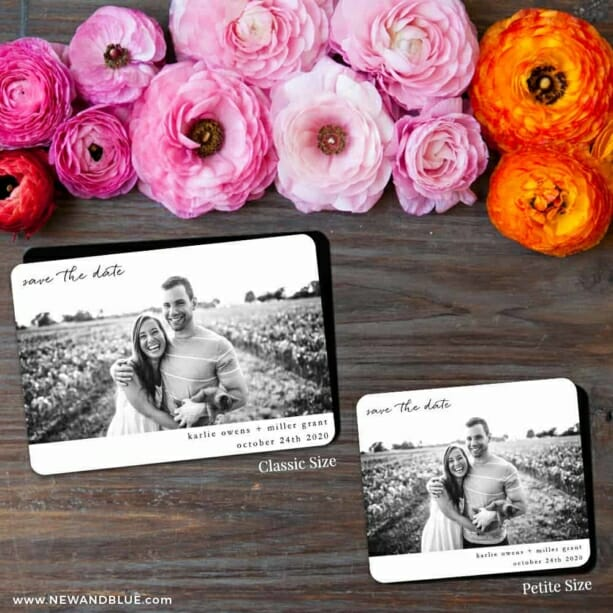 Exciting Times Nb 2 Save The Date Magnet Classic And Petite Size