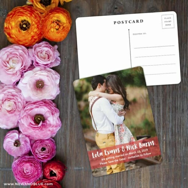 Breckenridge Nb Save The Date Postcard With Back