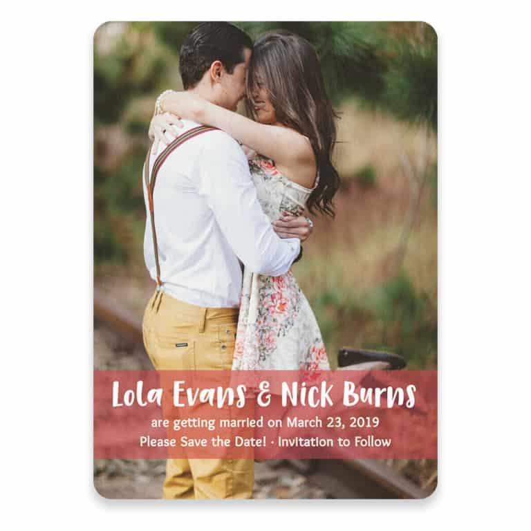 Breckenridge Nb Save The Date Postcards