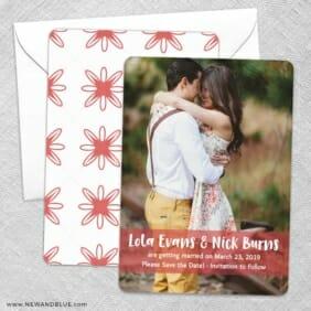 Breckenridge Nb Save The Date Wedding Card