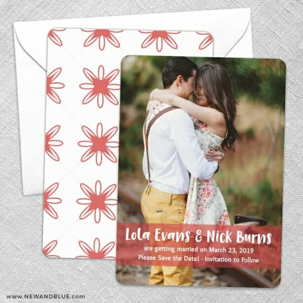 Breckenridge Nb Save The Date Wedding Card