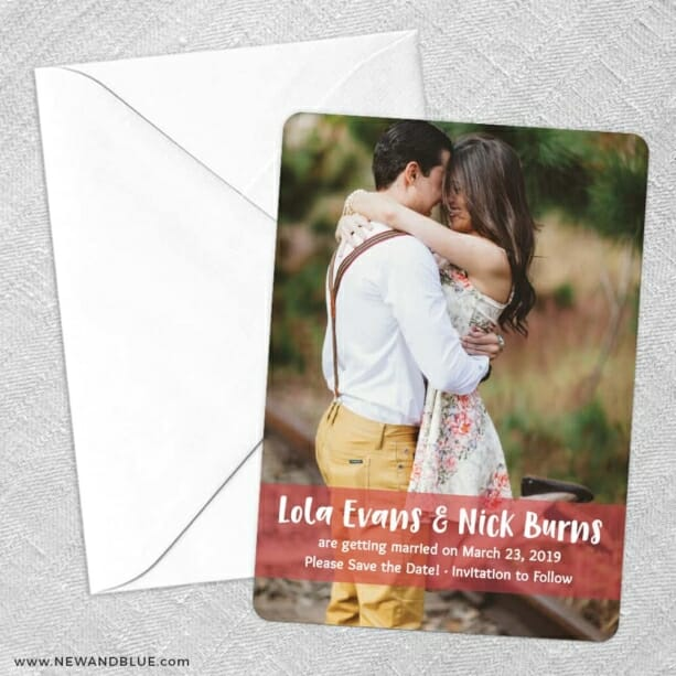Breckenridge Nb Save The Date Party Card