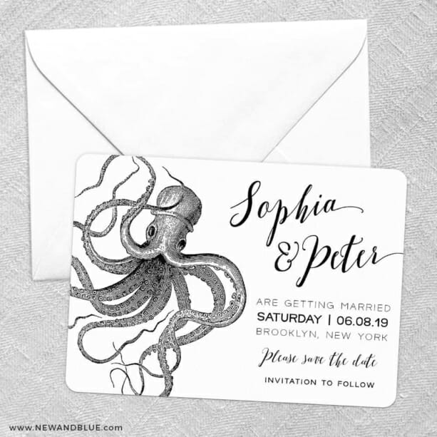 Jules Save The Date Party Card