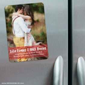 Breckenridge Nb1 3 Refrigerator Save The Date Magnets