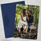 Bliss Nb 5 Save The Date With Optional Color Envelope