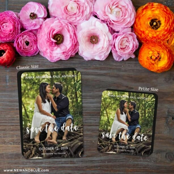 Bliss Nb 2 Save The Date Magnet Classic And Petite Size